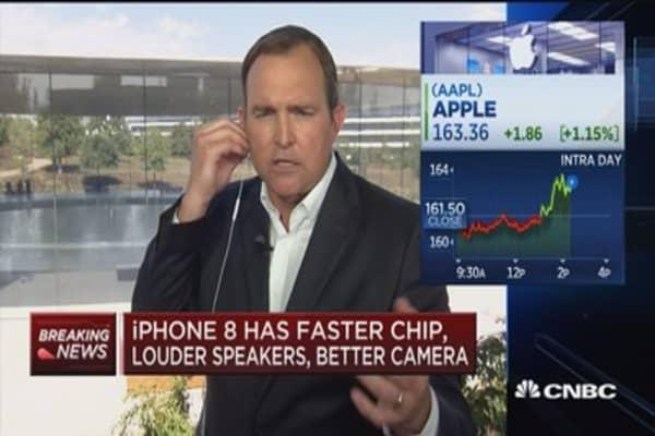 Apple unveils iPhone X