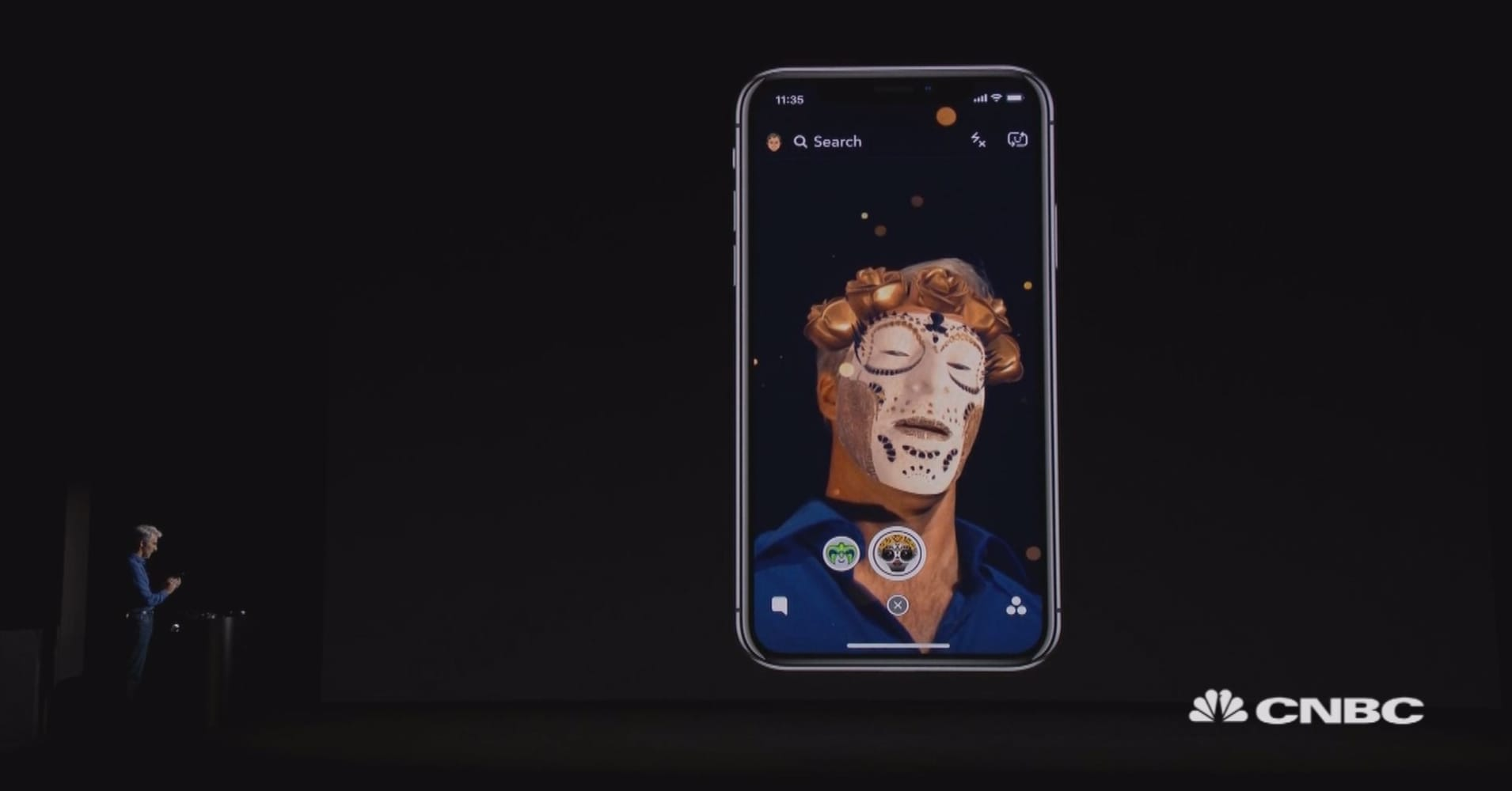 apple shows off first live look at the iphone x