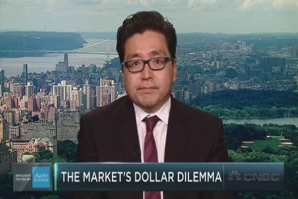 Fundstrat's Tom Lee on a curious market divergence