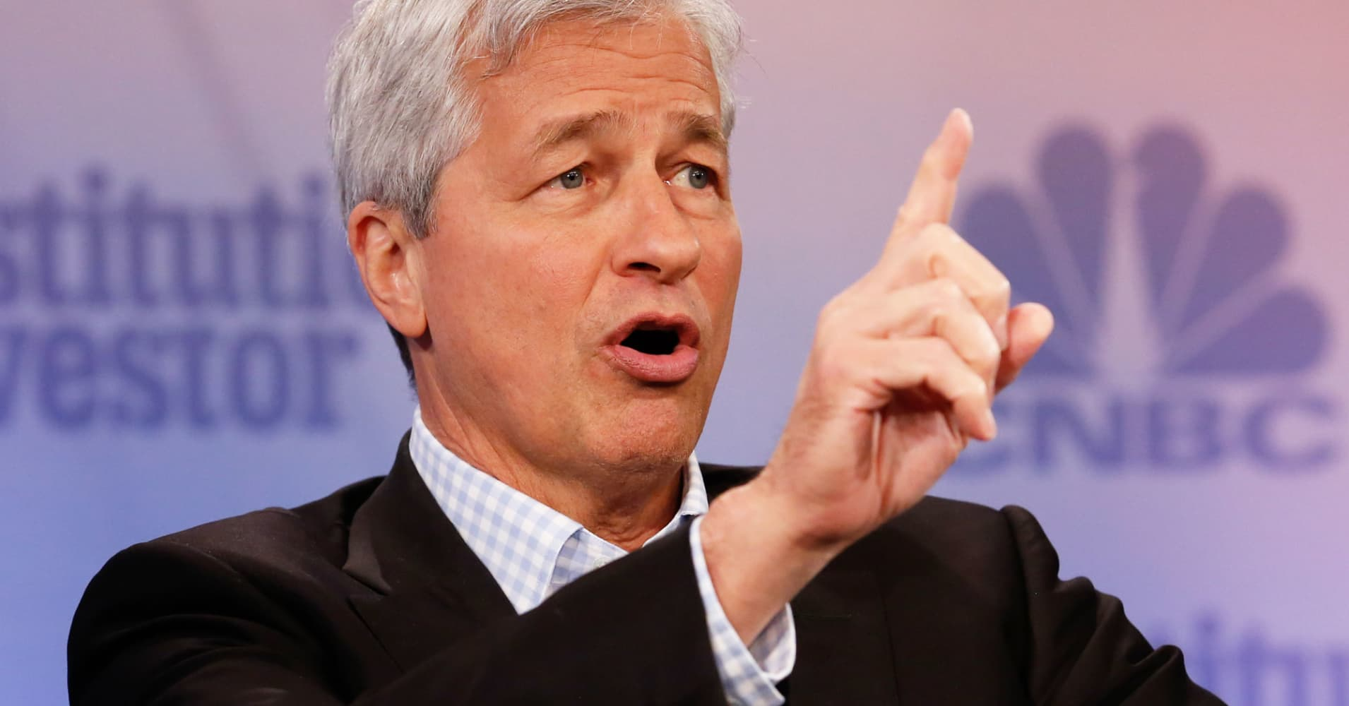 Jamie Dimon, CEO of JP Morgan Chase