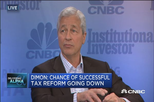 Jamie Dimon: There's a huge vaccuum if business isn't involved in policy