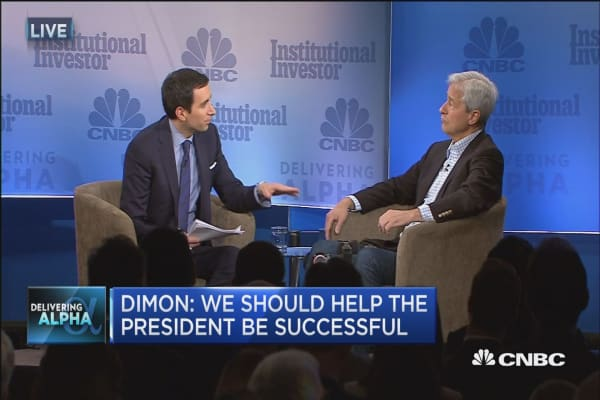 Jamie Dimon on regulations: We're talking about calibration