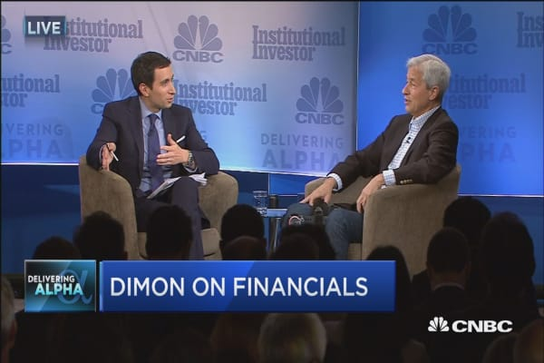 Jamie Dimon: Bank in the US are very healthy