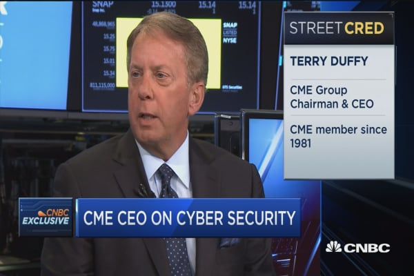 CME Group CEO Terry Duffy: We must allocate resources to defend our systems