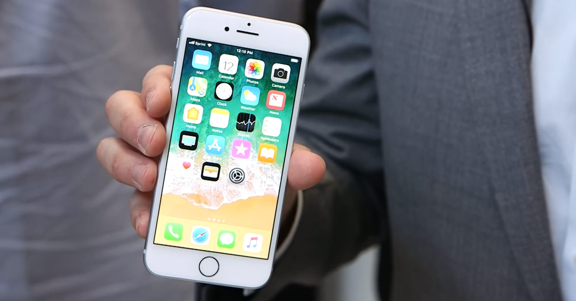 Hands-on with the iPhone 8