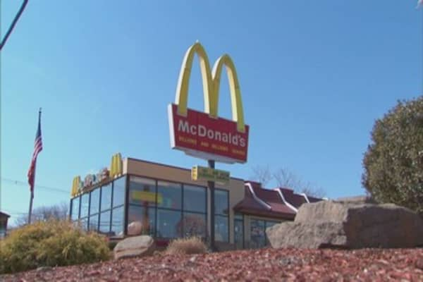 McDonald's suffers worst one-day decline in over a year