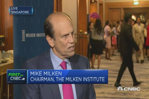 Mike Milken: We need to develop new jobs