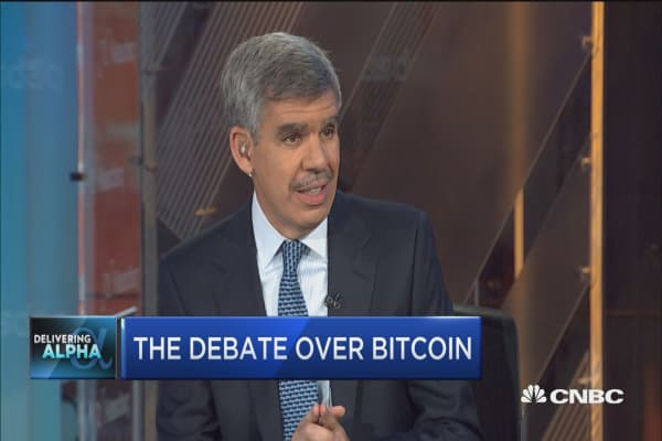 Bitcoin is 'disruptive technology' but pricing assumes massive adoption: Mohamed El-Erian