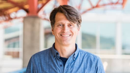 John Hanke, CEO of Niantic, the company behind Pokemon Go.