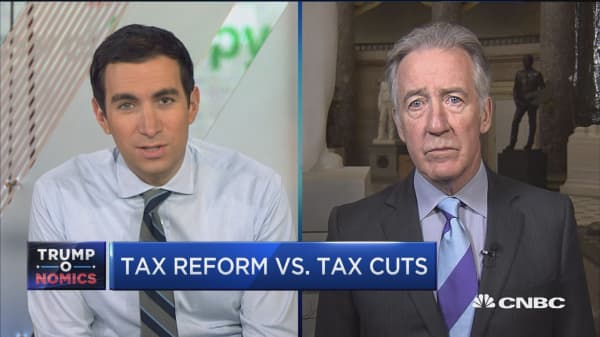 Rep. Richard Neal: Tax reform plan lacks details