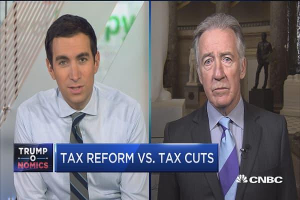 Rep. Richard Neal: Tax reform plan lacks details