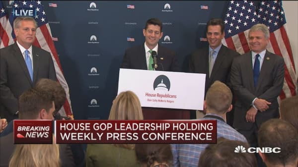 Paul Ryan: Tax reform outline will be released week of September 25th