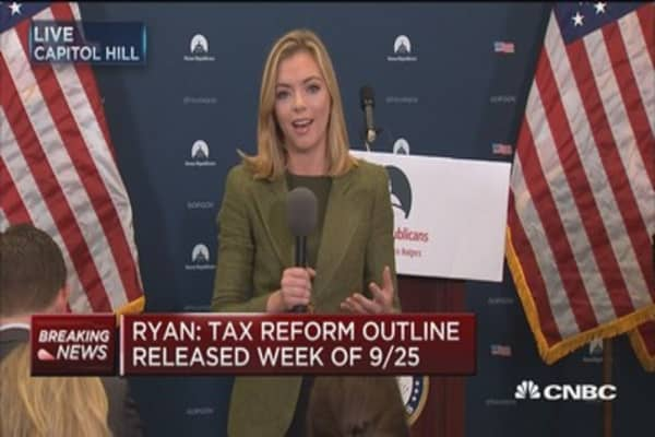 Paul Ryan: Congress and White House on the same page on taxes