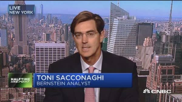 There will be a significant amount of upgraders after Apple iPhone release: Bernstein's Toni Sacconaghi