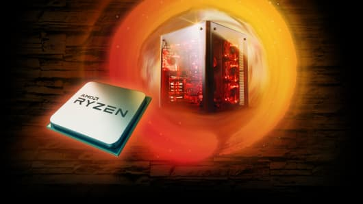 AMD Ryzen chip.