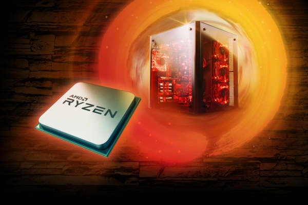 AMD Ryzen chip.