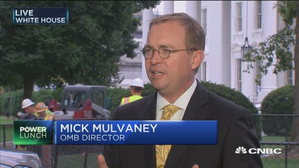 Mick Mulvaney: We want to see a corporate tax rate that brings companies back to the US