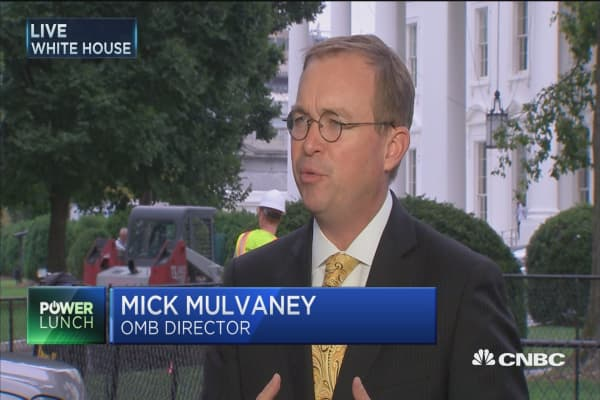 Mick Mulvaney: Cohn is heavily involved with tax reform process