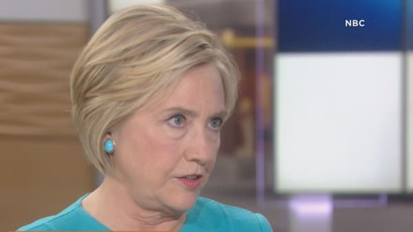 Hillary Clinton: Without the Comey letter, 'the evidence shows I would have won'