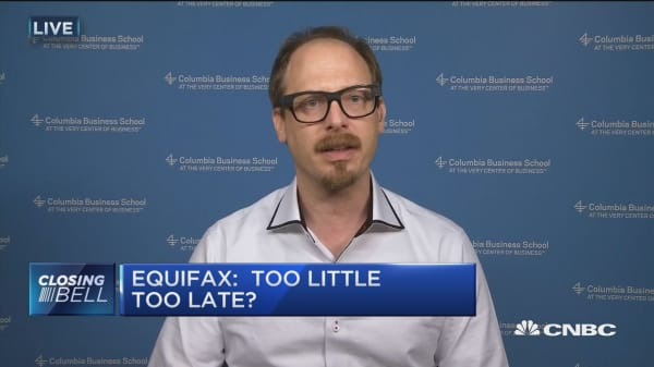 Equifax flunked crisis management 101: Columbia Business School's Adam Galinsky