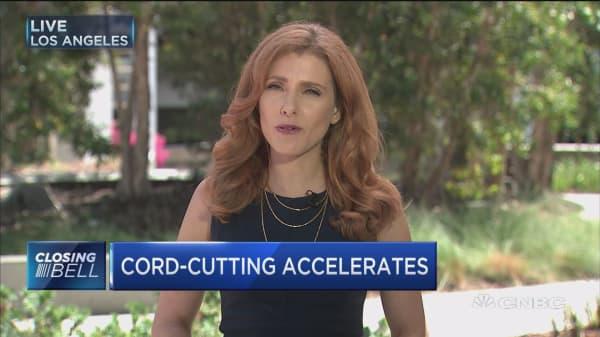 Media giants talk cord-cutting
