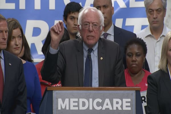 Bernie Sanders bill expands