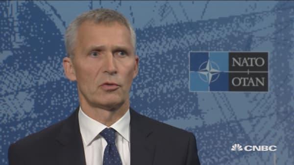 NATO Sec-Gen: War games show more assertive Russia