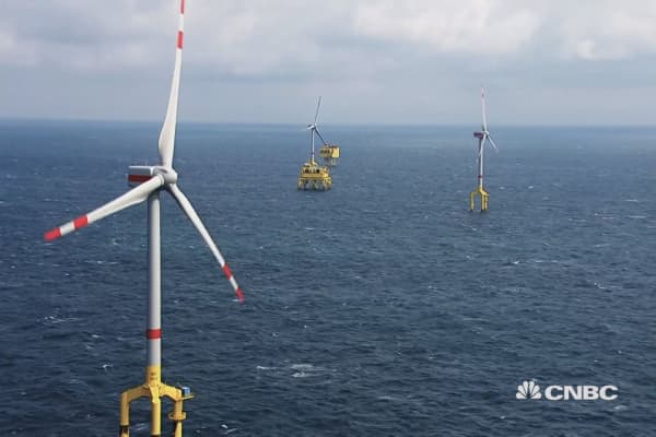 In the coming years, Europe could be home to a vast wind power hub