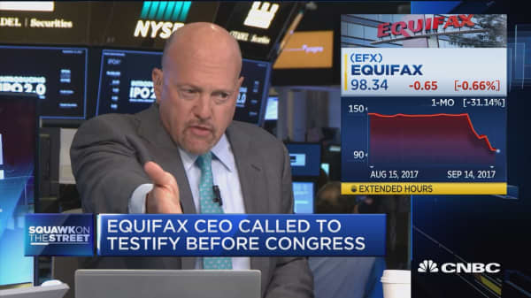 Equifax CEO should be fired: Jim Cramer