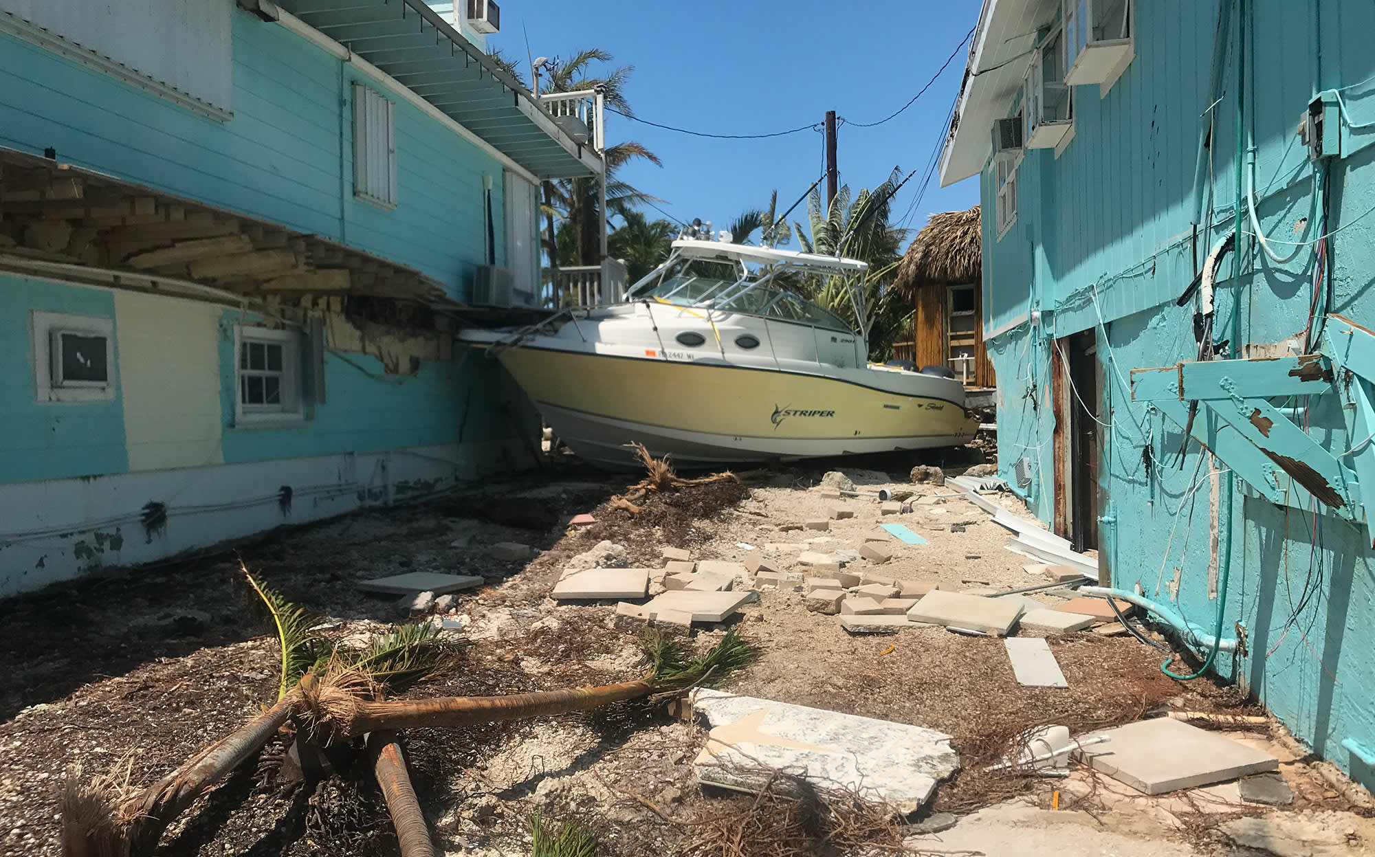 Hurricane Irma leaves the Florida Keys bowed but unbroken