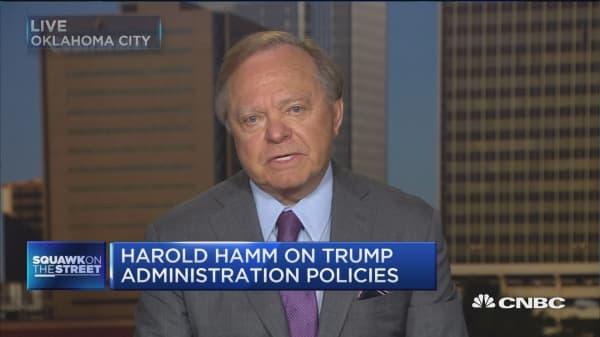 Harold Hamm: If we get Trump's policies we'll see 4% GDP