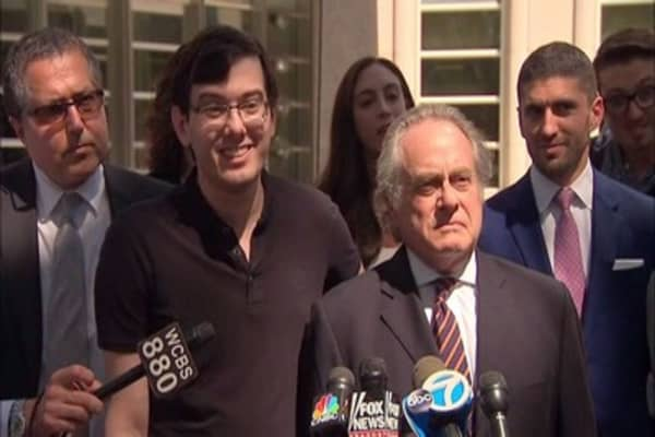 Judge sends Martin Shkreli to jail for Facebook post