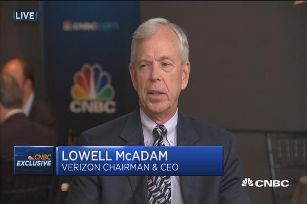 Verizon's Lowell McAdam: 5G will usher in the fourth industrial revolution