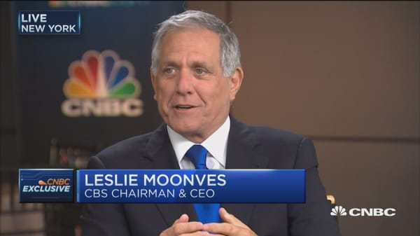 CBS' Les Moonves: We still get paid for over-the-top services