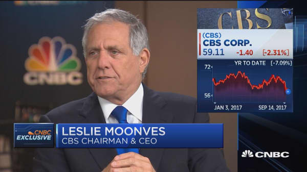 CBS' Les Moonves: NFL still best property on television, not worried about ratings