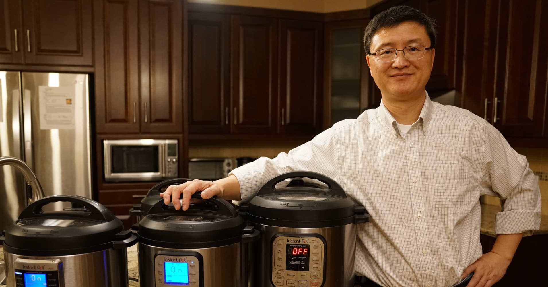 The Instant Pot is selling like crazy on Amazon—and its PhD inventor says he's read all 39,000 reviews
