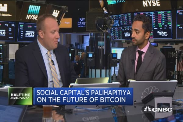 Chamath Palihapitiya on bitcoin: The genie has been let out of the bottle