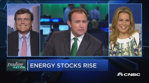 Trading Nation: Energy stocks rise