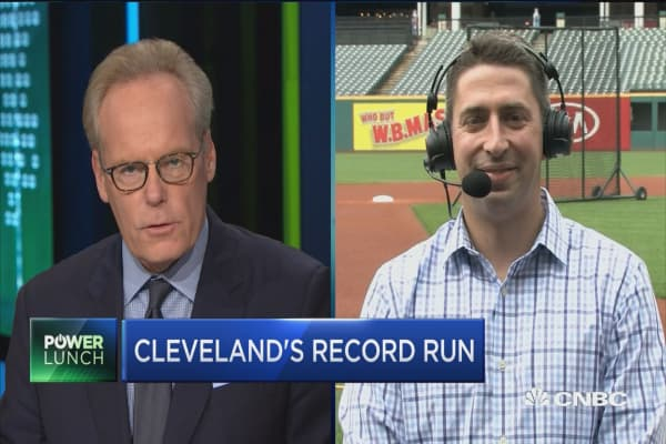 Cleveland Indians GM on 21-win streak