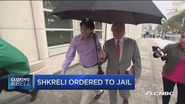 Martin Shkreli ordered to jail