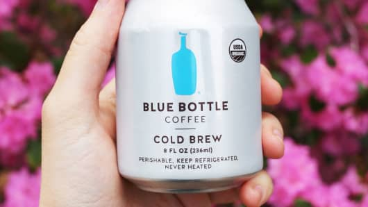 Blue Bottle Coffee Cold Brew.