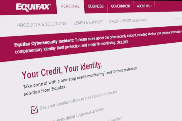 Equifax used 'admin' for the login and password of a non-US database