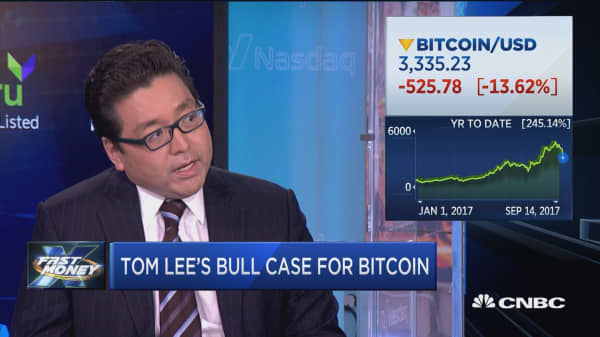 Tom Lee: Here's why bitcoin will hit $25,000