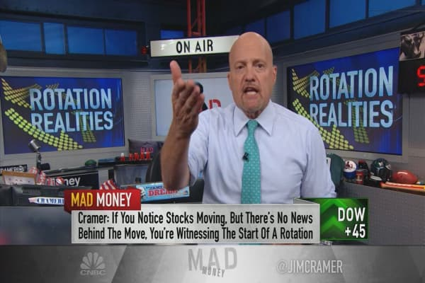 Cramer's No. 1 rule for spotting market rotations