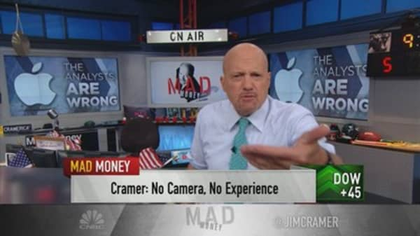 Analysts are wrong about the new iPhone: Cramer