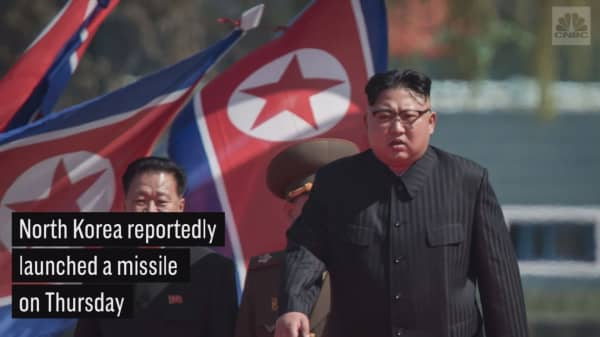 North Korea missile reportedly passes over Japan, lands in the sea
