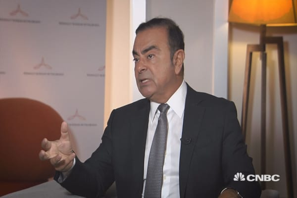 We don't see sales growth in the US, says Renault Nissan CEO