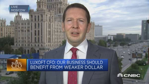 Business has to adapt to changing geopolitical situation, Luxoft CFO says