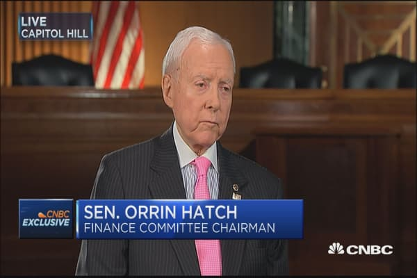Sen. Orrin Hatch: We can do tax reform in 2017 but it will take cooperation