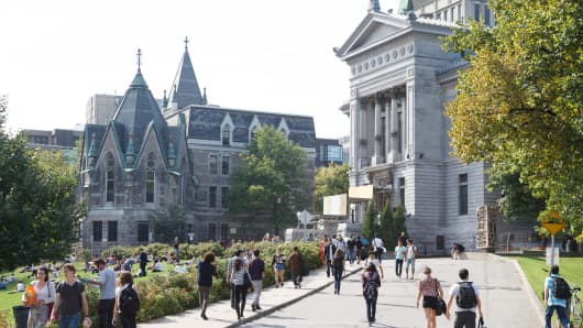 McGill University in Montreal, Canada.